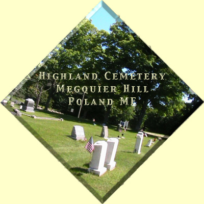 highland cemetery poland maine